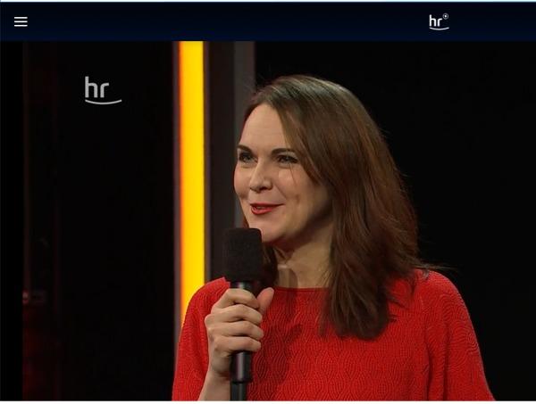Liza Kos bei HR Comedy Marathon